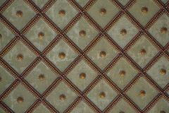 Ottoman Turkish art with geometric patterns. In view stock photo
