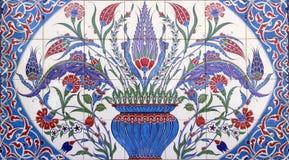 Ottoman Turkish cini Royalty Free Stock Image