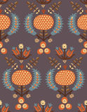 Ottoman turkish pattern stock illustration