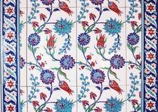 Ottoman Wall Tiles Stock Images