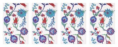 Ottoman Wall Tiles Royalty Free Stock Photography