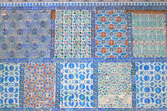 Ottoman Wall Tiles Royalty Free Stock Photography