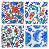 Ottoman wall tiles Royalty Free Stock Photo
