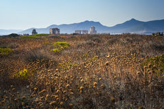 Ottomanevesting in Methoni, Griekenland Royalty-vrije Stock Foto's