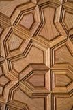 Ottomankonst med geometriska modeller på trä Arkivbilder