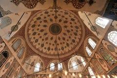 Ottomansultan, fru för Sultan Abraham ` s är fel den turhan sultangravvalvet/Istanbul-Turkiet Arkivbilder