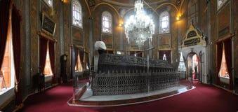 OttomanSultan Mehmet II gravvalv /fatih- Istanbul-Turkiet Royaltyfri Foto