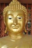 Ottone capo del Buddha nuovo fotografia stock libera da diritti