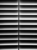 Otturatore in bianco e nero della piantagione per segretezza Fotografia Stock Libera da Diritti