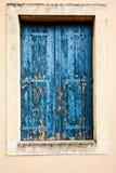 Otturatore di legno della finestra Immagini Stock