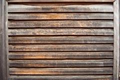 Otturatore di legno invecchiato Fotografia Stock