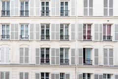 Otturatori della finestra Fotografia Stock