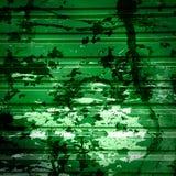 Otturatori verdi con gli splatters della vernice Fotografia Stock Libera da Diritti