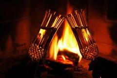 otucha ogień Zdjęcie Royalty Free