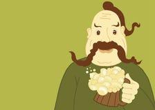 otucha piwny mężczyzna zdjęcie stock