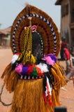 Otuo Ukpesose festival - Itu-maskerad i Nigeria arkivbild