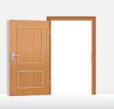 otwórz drzwi Obrazy Royalty Free