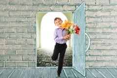 otwórz drzwi fotografia royalty free
