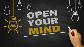 otwórz swój umysł fotografia royalty free
