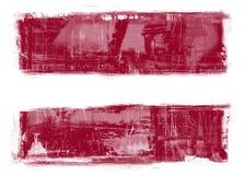 Łotwa bandery Fotografia Royalty Free