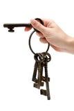 otwarcie drzwi Fotografia Stock
