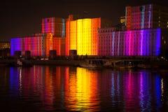 Otwarcie festiwalu okrąg światło Obraz Stock