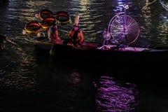 Otwarcie Karnawałowy korowód przy Wenecja, Włochy Zdjęcia Royalty Free