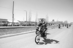 Otwarcie motocyklu sezon Zdjęcia Royalty Free