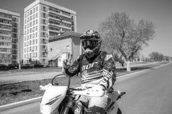 Otwarcie motocyklu sezon Zdjęcie Royalty Free