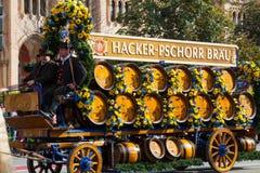 Otwarcie Oktoberfest Wrzesień 21, 2013 w Monachium, Niemcy. Obrazy Royalty Free