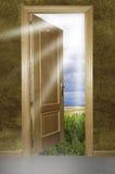 otwarta drzwiowa natura zdjęcia royalty free