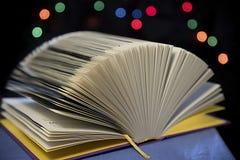 otwarta książka Obrazy Stock