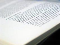 otwarta książka Fotografia Stock