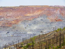 otwarta lana kopalnia Zdjęcie Stock
