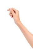 Otwarta palmowa ręka Zdjęcia Stock