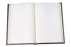 otwarta pusta książka Obraz Royalty Free