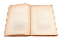 Otwarta rocznik książka Zdjęcia Stock
