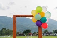 Otwarte Drzwi i balon Obraz Royalty Free