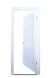 Otwarte Drzwi Odizolowywający Zdjęcie Royalty Free