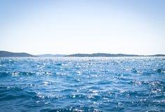 Otwarte Morze scena Zdjęcia Stock
