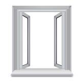 otwarte okno Obrazy Stock