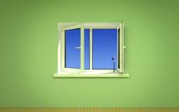 otwarte okno Obraz Stock