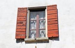 Otwarte okno pokrywy Obraz Stock