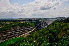 Otwartej jamy kopalnia złota, Afryka Obrazy Stock