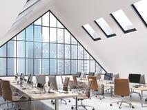 Otwartej Przestrzeni biuro Zdjęcie Stock