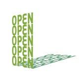 otwarty Obrazy Stock