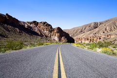otwarty autostrada krajobraz Obraz Royalty Free