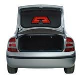 otwarty bagażnik samochodu Obrazy Stock