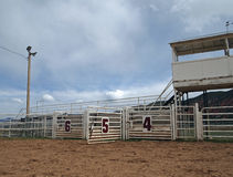 otwarty bramy rodeo Zdjęcia Stock