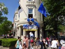 Otwarty dom przy ambasadą Estonia Fotografia Stock